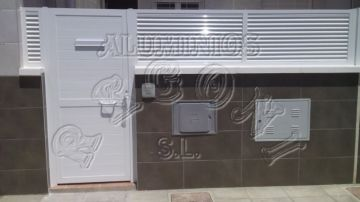 Puertas de aluminio