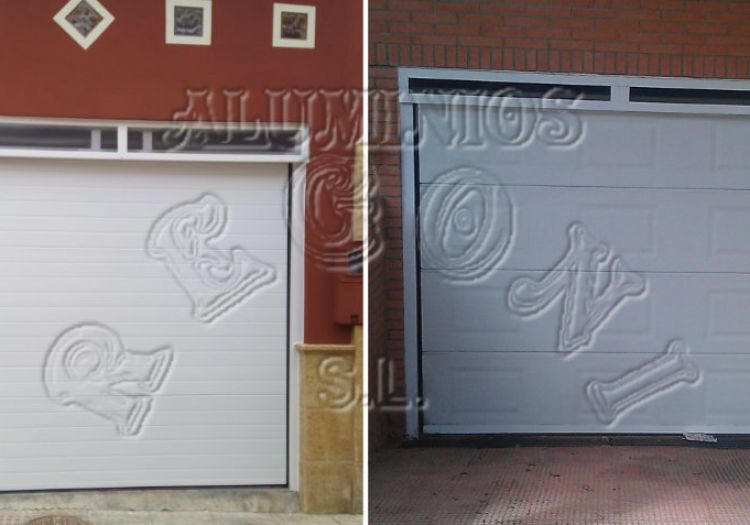 Puertas de garaje y Exteriores | ALUMINIOS REGONI